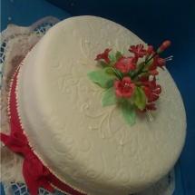 Torta kvety 2