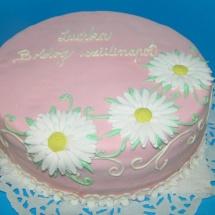 Torta kvety
