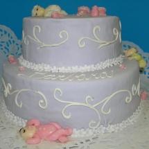 Torta poschodova deti