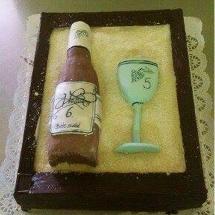 Torta víno