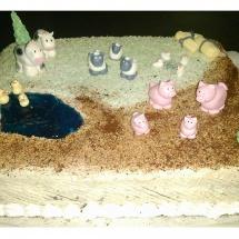 Torta zvieratka