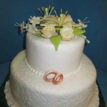 svadobná torta 2